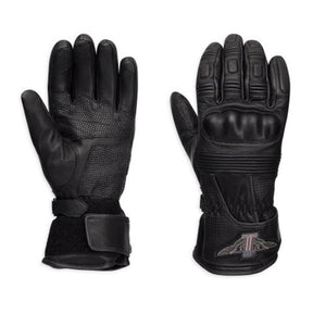 Harley-Davidson® Mens #1 Genuine Classics Leather Gloves - 98361-17Em