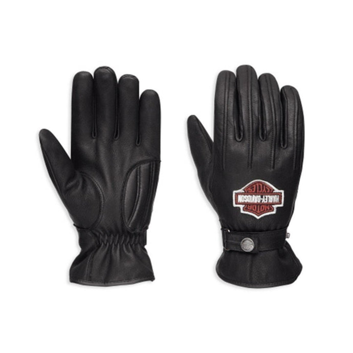 Harley-Davidson® Mens Enthusiast Leather Gloves - 98356-17Em
