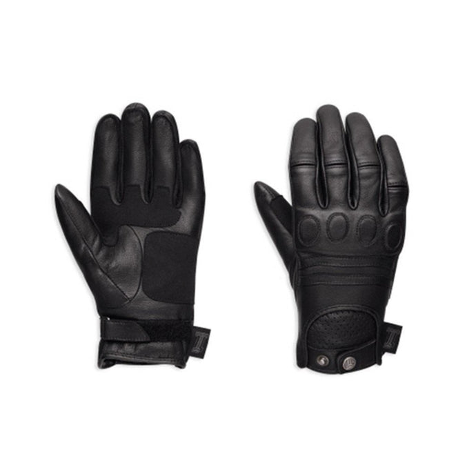 Harley-Davidson® Womens #1 Skull Leather Gloves - 98375-17Ew