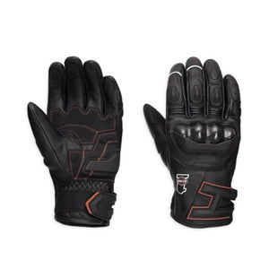 Harley-Davidson® Mens Endurance Leather Gloves - 98358-17Em