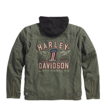 Harley-Davidson® Mens Long Way 3-In-1 Jacket - 98563-15Vm Casual Jackets