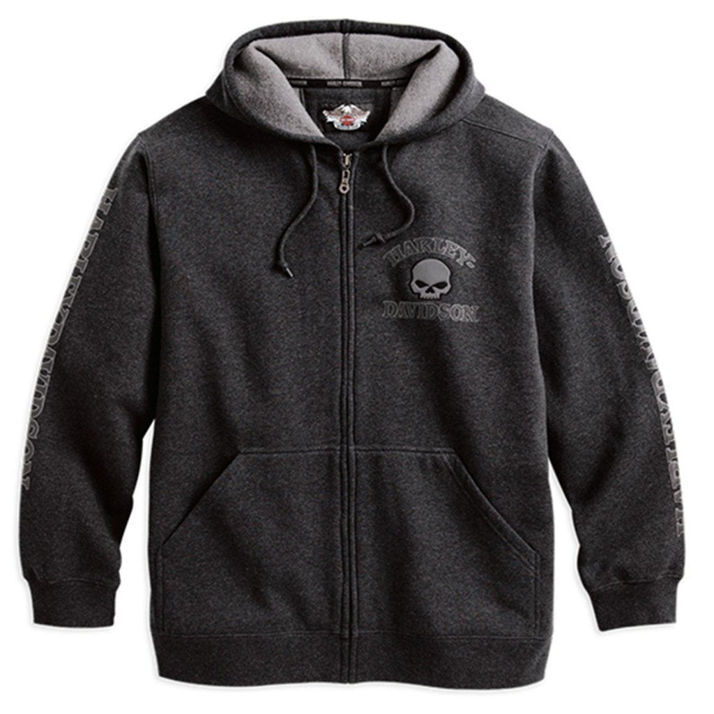 Harley-Davidson® Mens Hooded Skull Sweatshirt - 99107-18Vm Hoodies