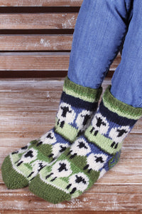 Flock of Sheep Sofa Socks
