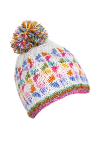 Oban Bobble Hat - Bluebells of Bath