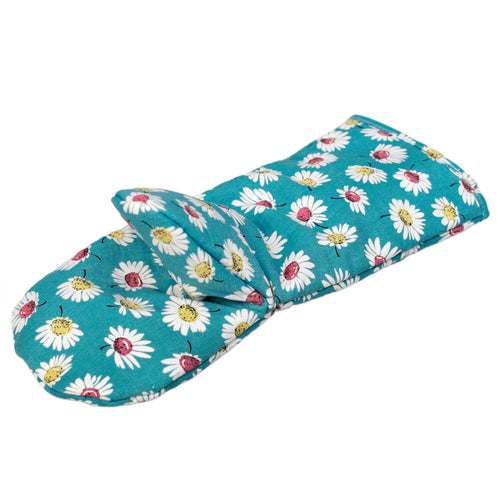 Summer Daisy Oven Glove - Bluebells of Bath