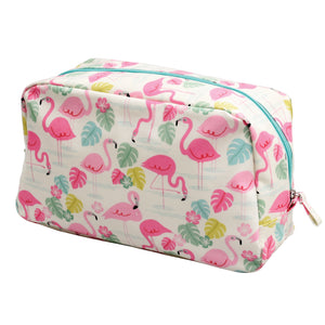 Flamingo Bay Wash Bag - Bluebells of Bath