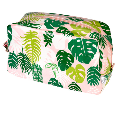 Tropical Palm Wash Bag - Bluebells of Bath