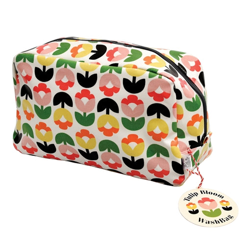 Tulip Bloom Wash Bag - Bluebells of Bath