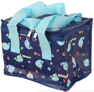 Narwhale Lunch Bag - Bluebells of Bath