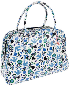Folk Doves Weekend Bag - Bluebells of Bath