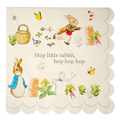 Peter Rabbit Napkins - Bluebells of Bath