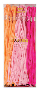 Pink Party Tassels - Bluebells of Bath