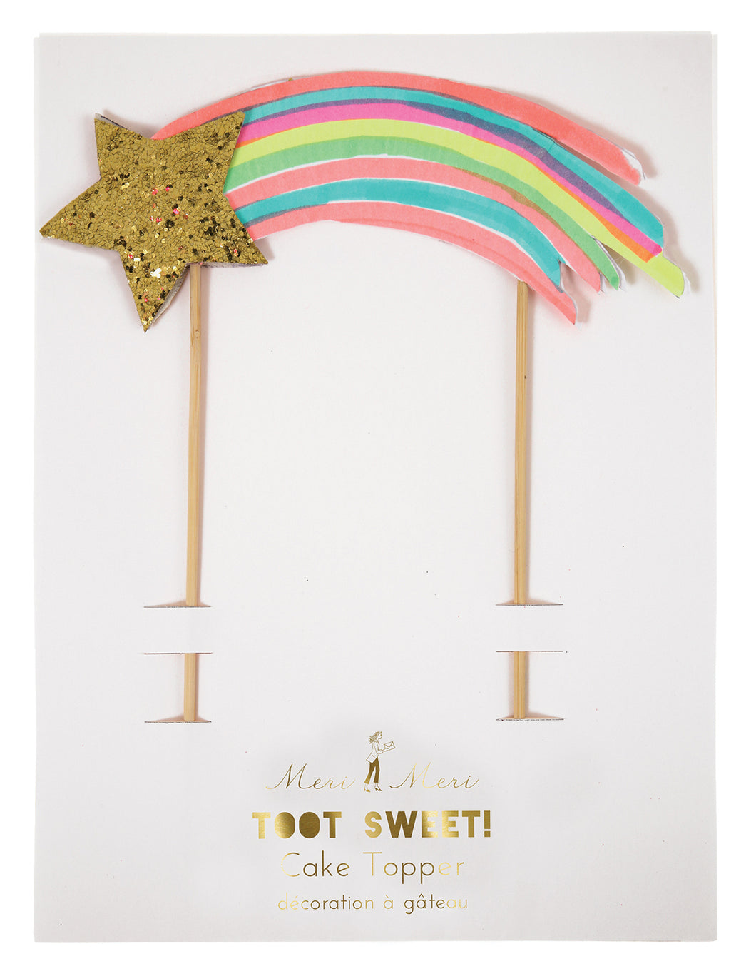 Shooting Star Cake Topper - Bluebells of Bath
