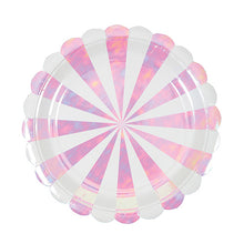 Pink Iridescent Party Plates - Bluebells of Bath