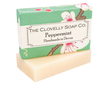 Peppermint Soap - Bluebells of Bath