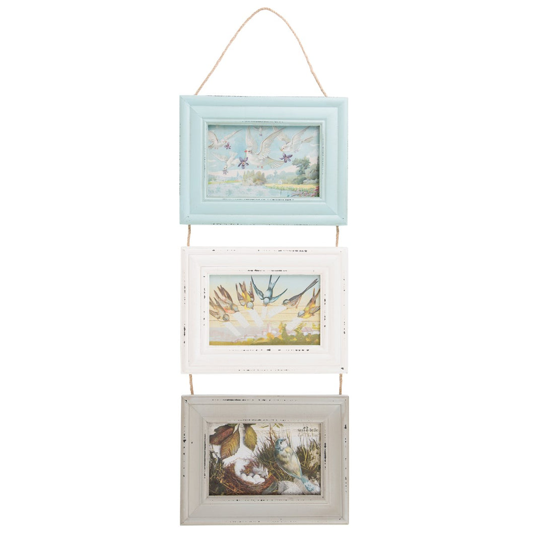 Delilah Triple Hanging Frame - Bluebells of Bath