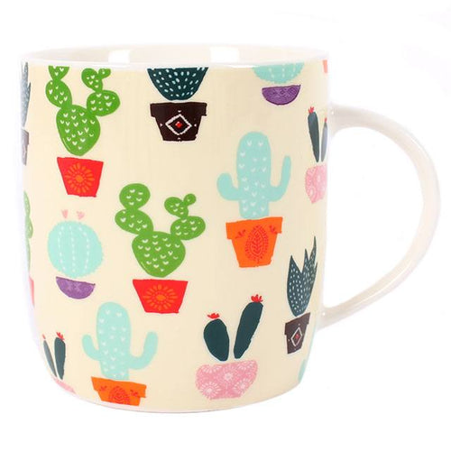 Cactus Mug - Bluebells of Bath
