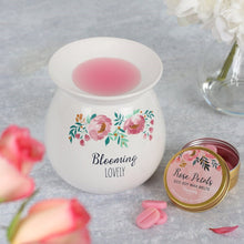 Blooming Lovely Wax Melt Burner - Bluebells of Bath
