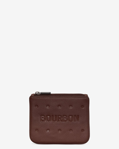 Bourbon Zip Top Purse - Bluebells of Bath