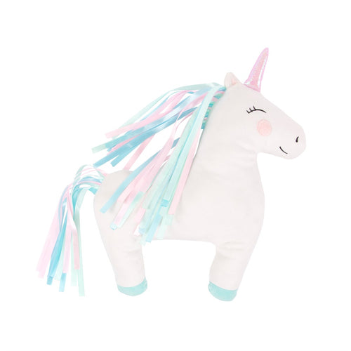 Rainbow Unicorn Cushion - Bluebells of Bath