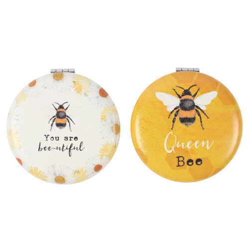 Bumble Bee Compact Mirrors - Bluebells of Bath