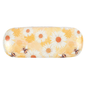 Bee and Daisy Glasses Case - Bluebells of Bath