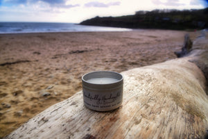Seaweed & Juniper Tin Candle - Bluebells of Bath