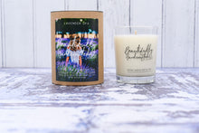 Lavender Spa Candle beautifully handcrafted bluebells of bath