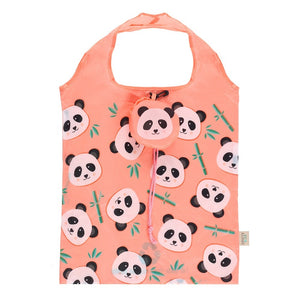 Penelope Panda Foldable Shopping Bag - Bluebells of Bath