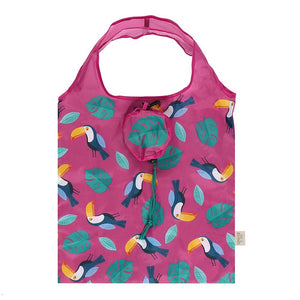 Toucan Foldable Shopping Bag - Bluebells of Bath