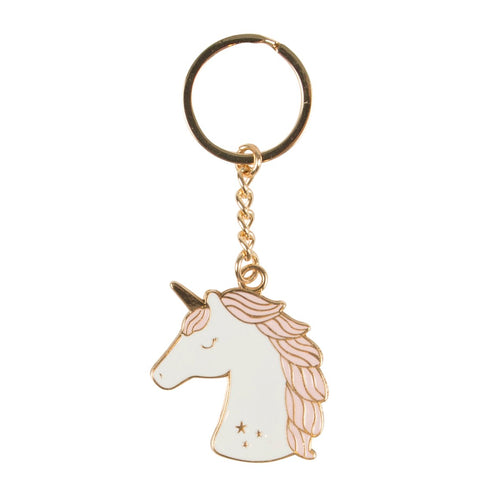 Unicorn Head Keyring - Bluebells of Bath