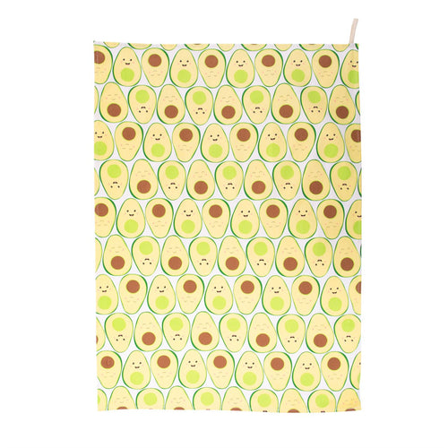 Avocado Tea Towel - Bluebells of Bath