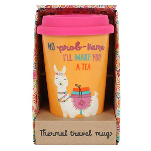 Llama Travel Mug - Bluebells of Bath