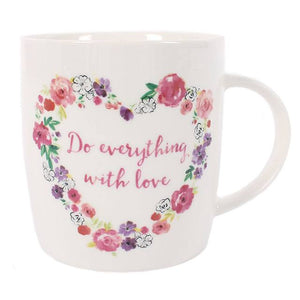 Floral Love Mug - Bluebells of Bath