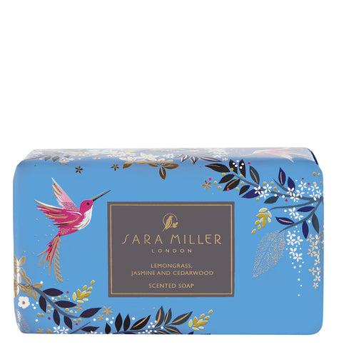 Sara Miller London Lemongrass, Jasmine & Cedarwood Scented Soap - Bluebells of Bath