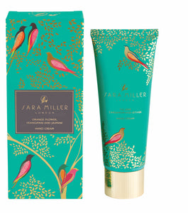 Sara Miller London Fig Leaf, Cardamom & Vetiver Hand Cream - Bluebells of Bath