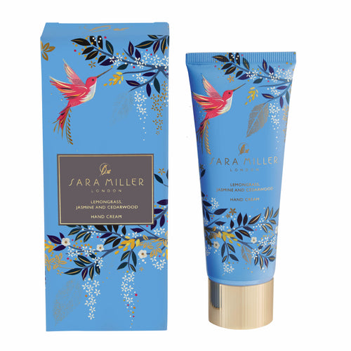 Sara Miller London Lemongrass, Jasmine & Cedarwood Hand Cream - Bluebells of Bath