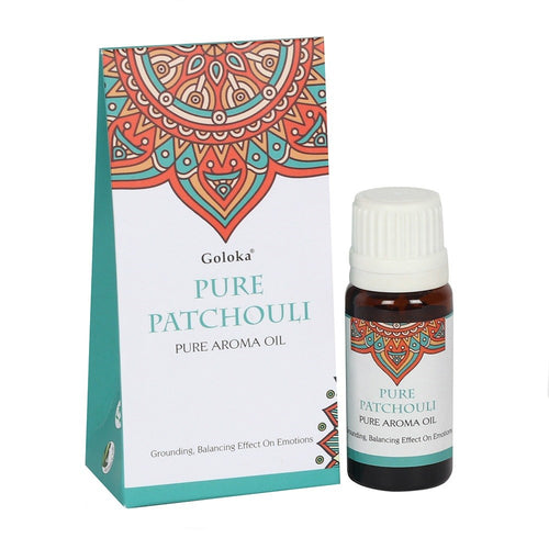 Pure Patchouli Aroma Oil - Bluebells of Bath