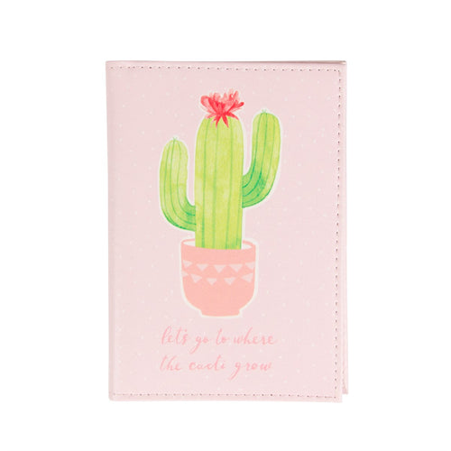 Cactus Passport Case - Bluebells of Bath