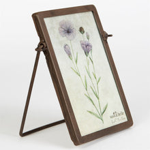 Industrial Portrait Photo Frame Small - Bluebells of Bath