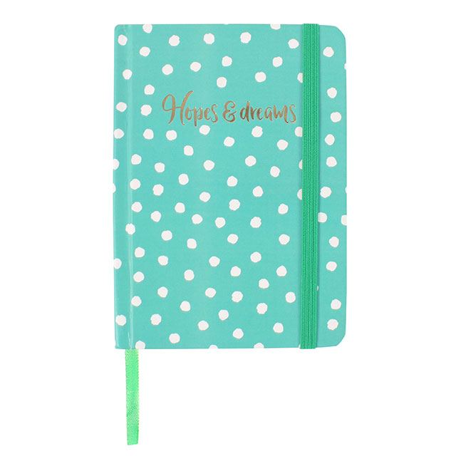 Green Hopes and Dreams Pocket Notebook - Bluebells of Bath
