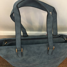 Blue Tote and Shoulder Bag Set - Bluebells of Bath