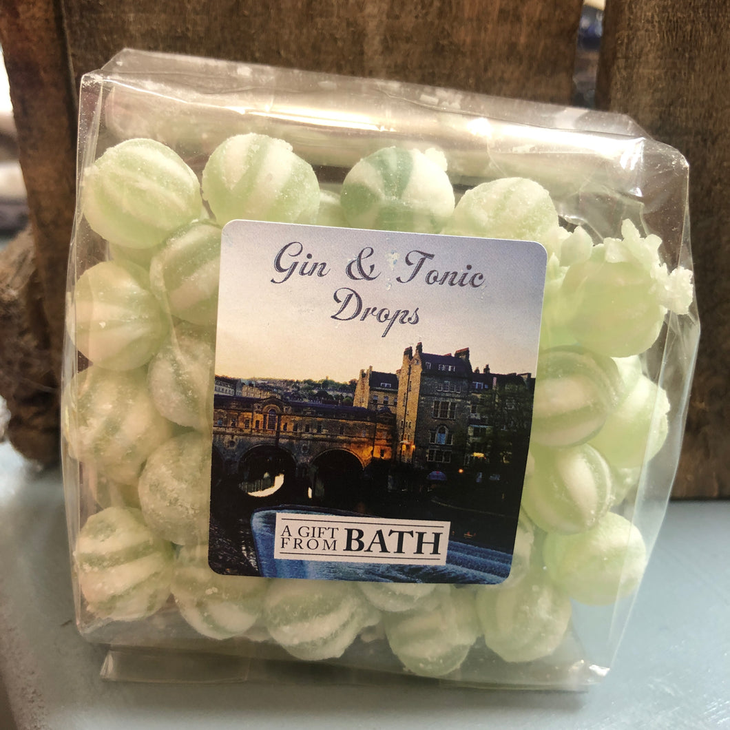 Gin & Tonic Drops  bluebells of bath