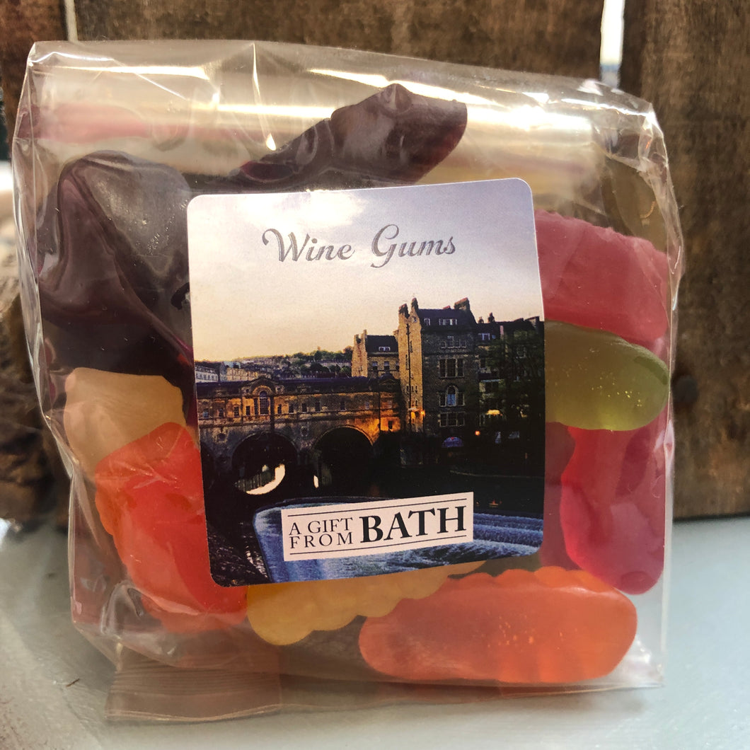 Wine Gums bluebells of bath