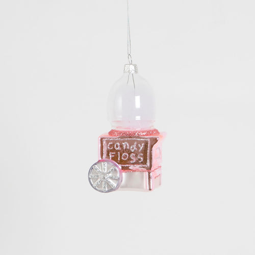 Candy Floss Machine Hanging Decoration - Bluebells of Bath