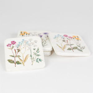 Set of 4 Wildflower Coasters - Bluebells of Bath