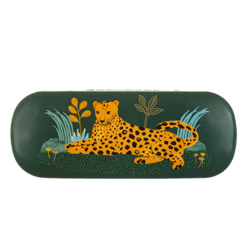 Leopard Love Glasses Case - Bluebells of Bath