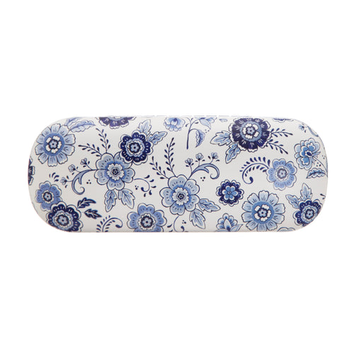 Blue Willow Floral Glasses Case - Bluebells of Bath