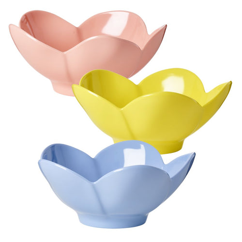 Melamine Flower Bowls - Bluebells of Bath