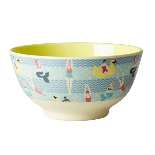Swimster Print Melamine Bowl - Bluebells of Bath